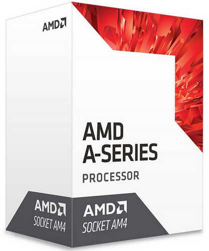 AMD 7th Gen A10-9700 APU Quad cores 3.50GHz, Max 3.8GHz, 2MB Cache Socket AM4 CPU