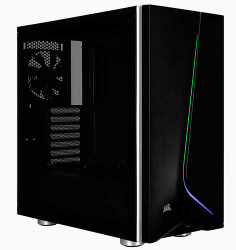 Corsair Carbide SPEC-06 RGB Tempered Glass Black Case with Side Window Panel