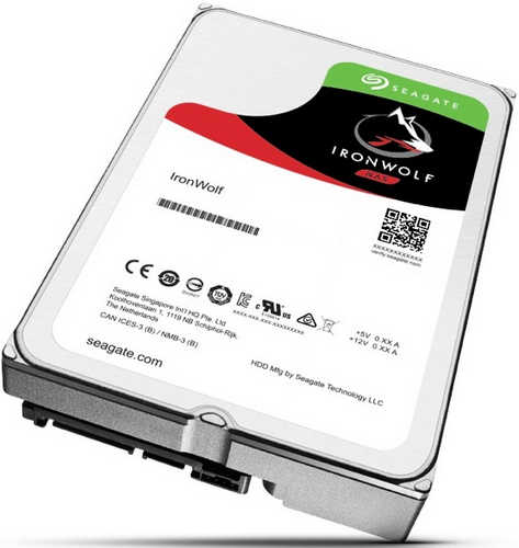 4TB 4000GB Seagate ST4000VN008 IronWolf NAS HDD SATA III 6.0Gb/s 64MB Cache for NAS Systems