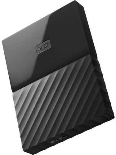 "External 2.5"" 3TB 3000GB Western Digital WDBYFT0030BBK-WESN My Passport Black USB3.0 Portable Drive"