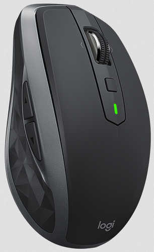 Logitech MX Anywhere 2S Graphite Wireless Mouse