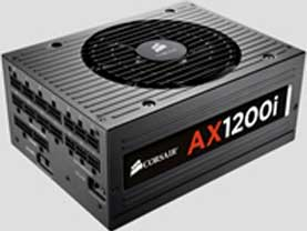 1200W Corsair AX Series AX1200i Modular Cables 80 Plus Platinum Management Digital ATX Power Supply
