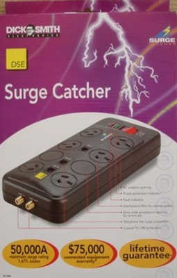 DSE 6 Way Surge Protector Power Board (one left) <!--CL-->