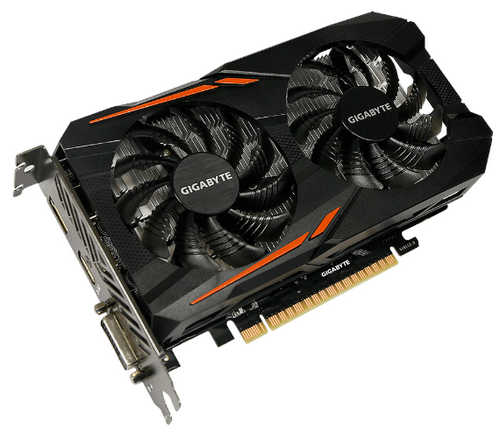Gigabyte RX560GAMING-OC-4GD Radeon RX560 Gaming OC 4GB GDDR5 128-bit, up to 1300 MHz in OC Mode
