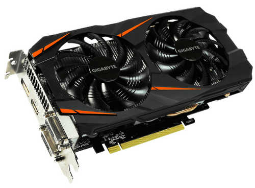 Gigabyte N1060WF2OC-6GD GTX 1060 WINDFORCE OC 6G GDDR5 192-bit, DVI, HDMI, DisplayPort
