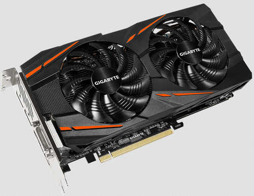 Gigabyte RX580GAMING-8GD Radeon RX 580 8GB GDDR5 256-bit, up to 1355MHz in OC mode